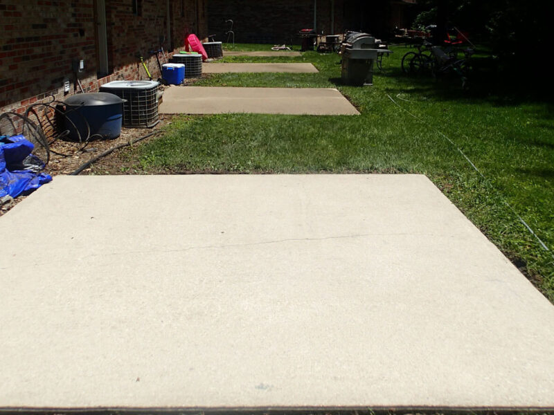 Concrete cleaning Illinois