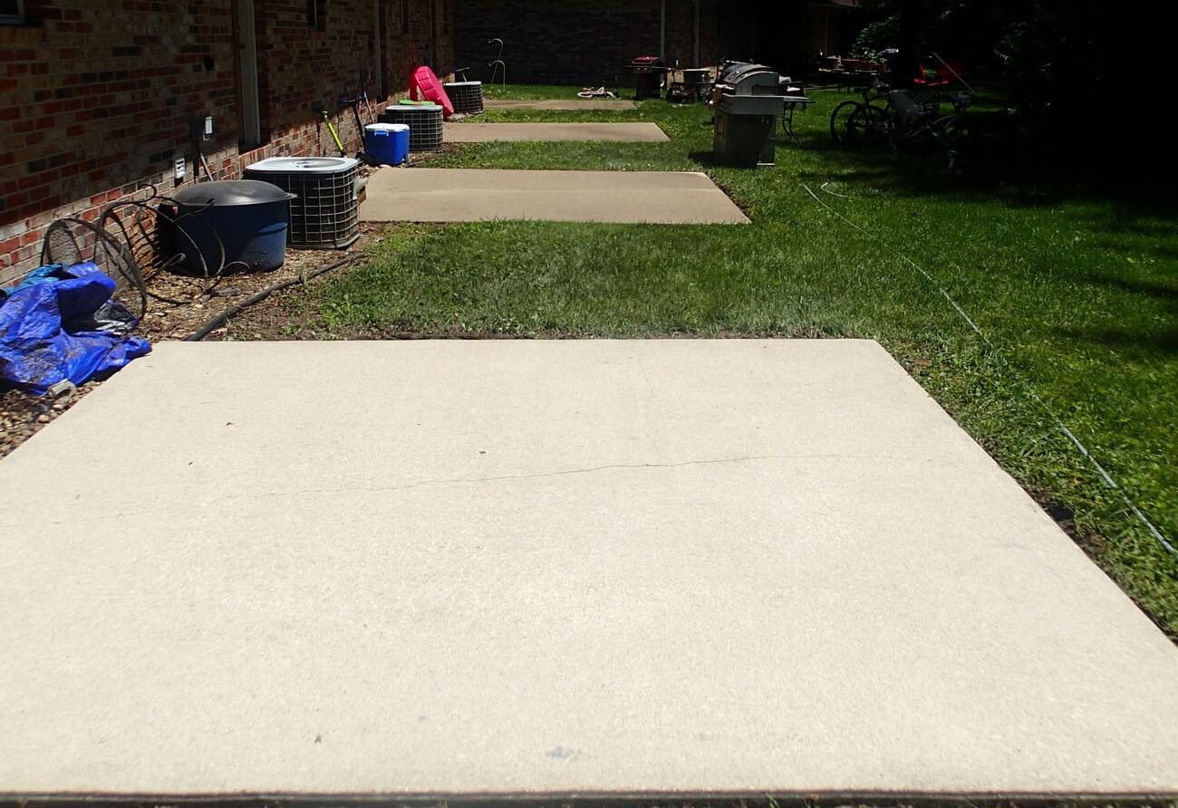 Concrete cleaning Illinois